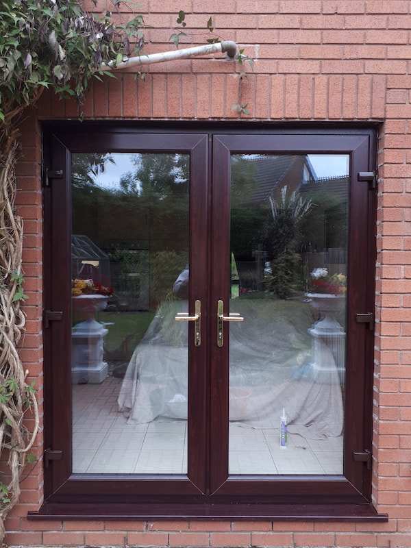 New French doors installed in Stoke-On-Trent